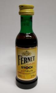 Fernet Stock Citrus 0,05l 27%