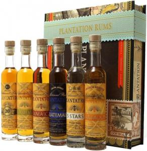Plantation Cigar Box 6 x 0,1L 0,6L 41,2%