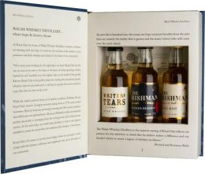 Walsh Whiskey Book mini 3 x 50 ml