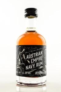 Austrian Empire Navy Rum Reserve 1863 40% vol. 0.05l